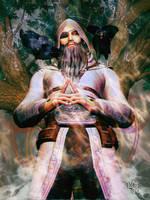 Northern Light : Odin by Erulian