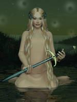The Crystal Blade by Erulian