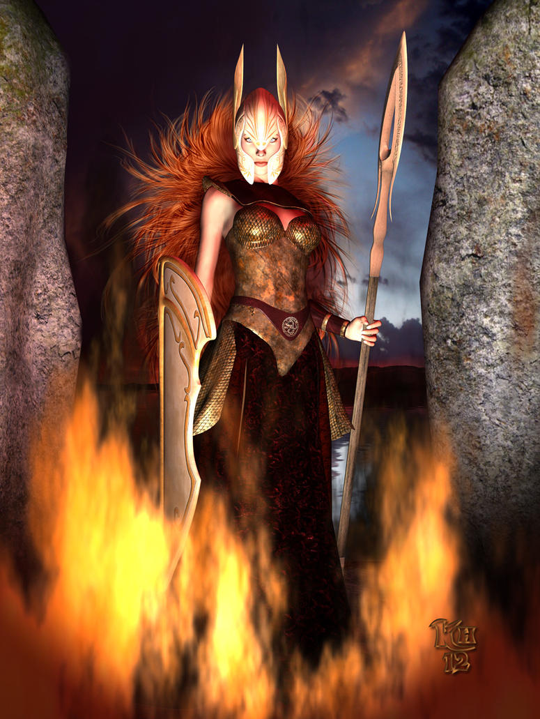 Brunhild by Erulian