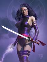 Psylocke by Erulian