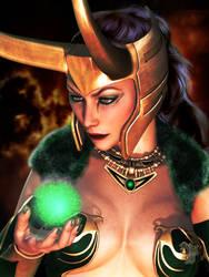 Loki by Erulian