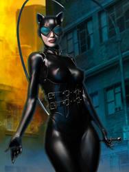 Catwoman by Erulian