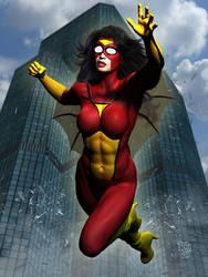 Spider-Woman by Erulian