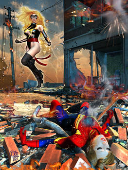 Ms Marvel - The Death of Captain Marvel