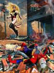 Ms Marvel - The Death of Captain Marvel by Erulian