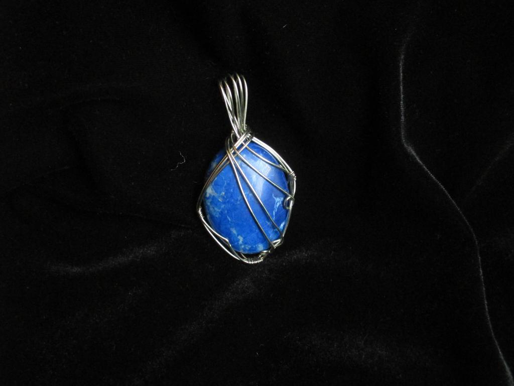 Lapis Lazuli 001 by Annalaiane