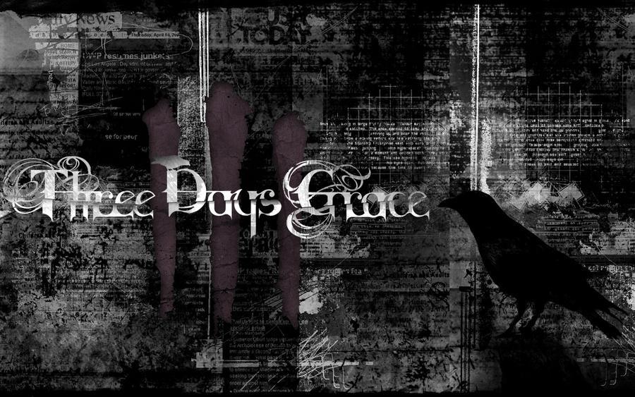 Three days crow by destructor021 on deviantart - Three days grace wallpaper ...