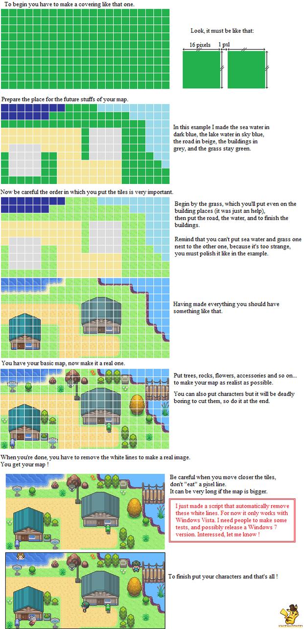 Pokemon mapping tutorial by KageNoSensei