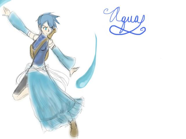 Waterbender Aqua - Avatar/Kingdom Hearts AU by ...