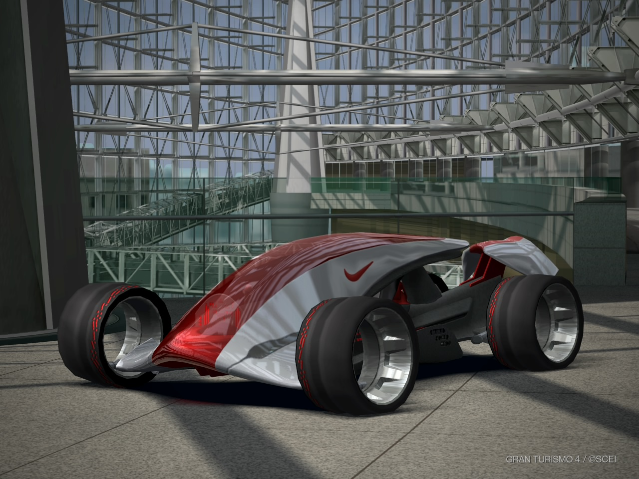 Gran Turismo 4 Nike one at Marunouchi 1
