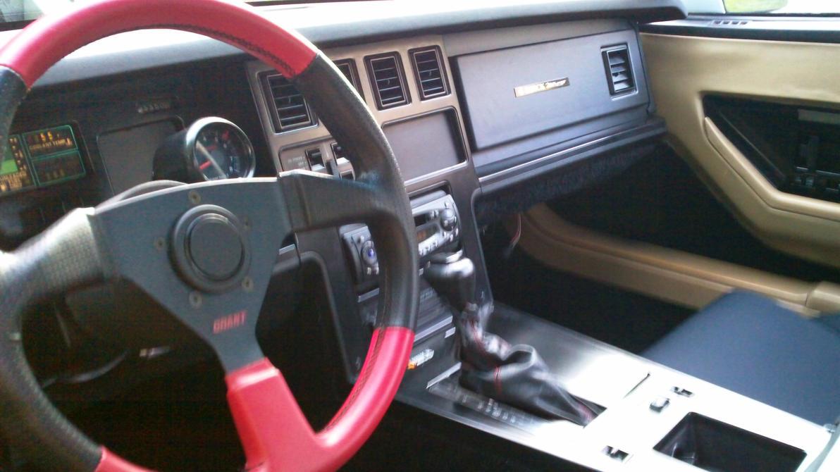 My Dad 39 S 1984 Corvette C4 Interior View By Chernandez2020 On Deviantart