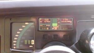 My Dad's 1984 Corvette C4 Speedometer