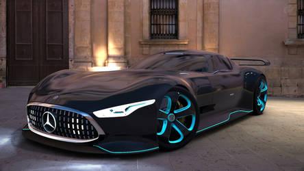 Gran Turismo 6 mercedes benz amg vision GT by Chernandez2020