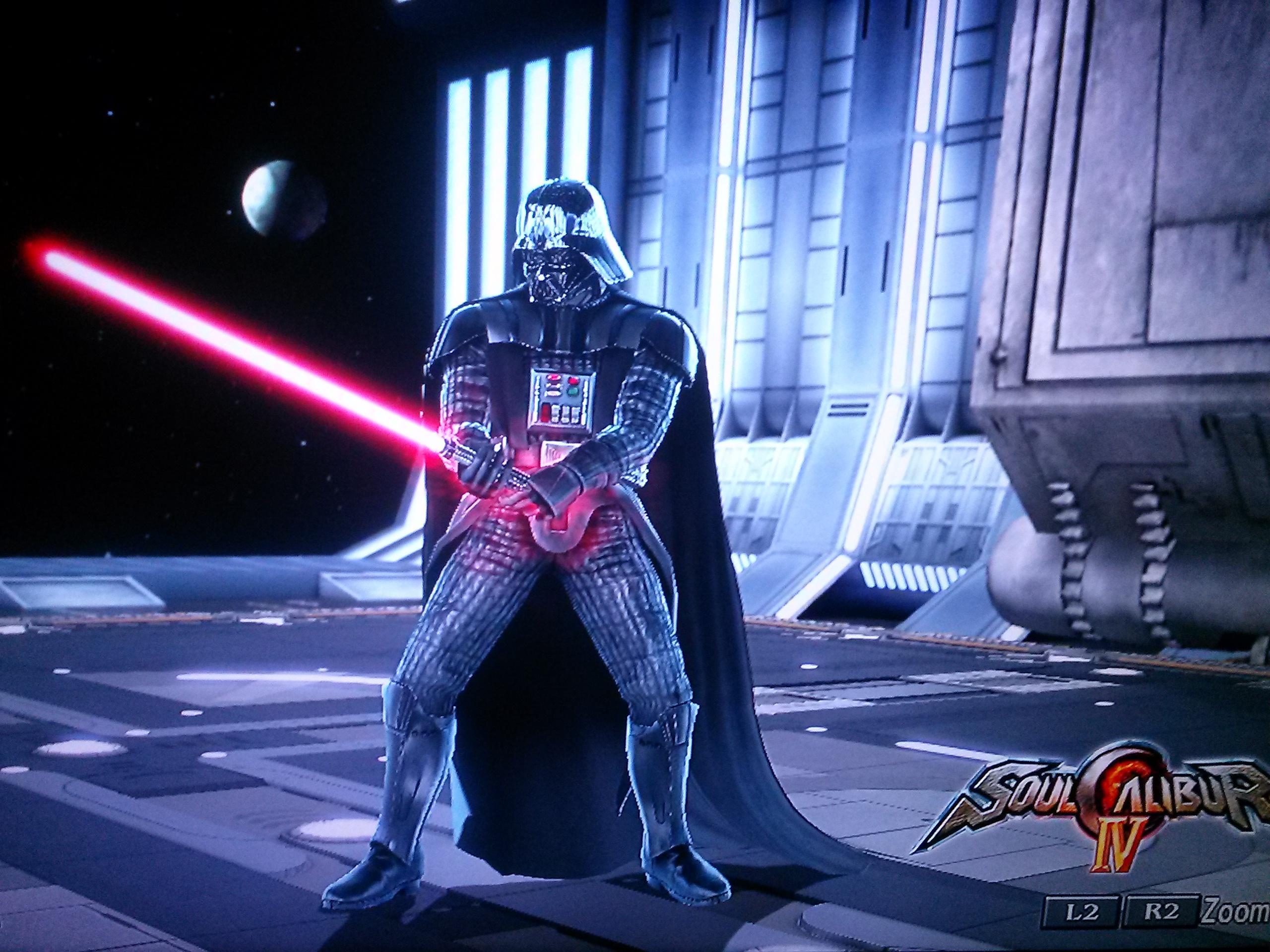 Darth Vader in Soul Calibur IV - 1544.3KB