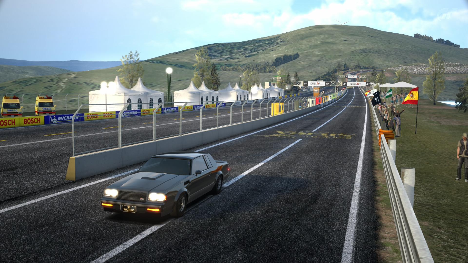 Circuito De Madrid Gran Turismo 5 : Gran turismo buick gnx circuito de la sierra by