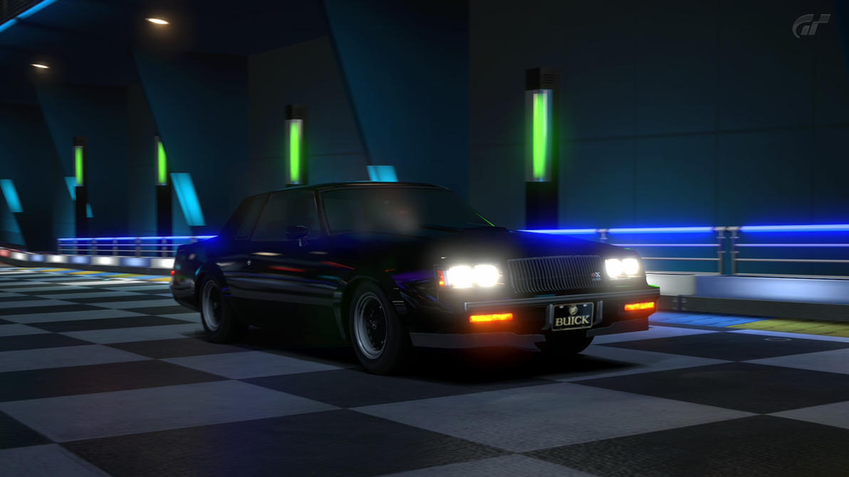 GT5 Buick GNX Kart Space #3 by Chernandez2020