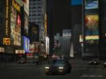 Gran turismo 4 Buick GNX Times Square  by Chernandez2020