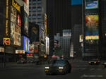 Gran turismo 4 Buick GNX Times Square  by Chernandez2020