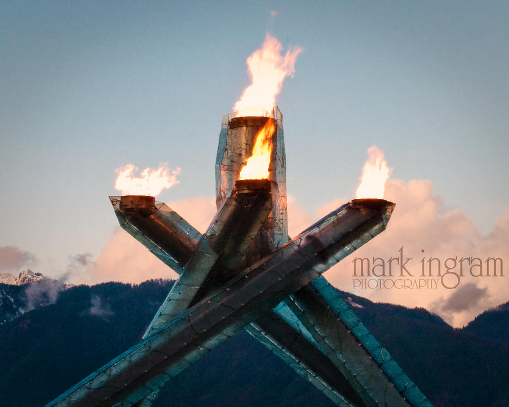EXT - Olympic Flame - Day by Mark-Ingram