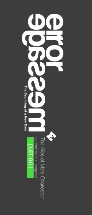 error-message's Profile Picture