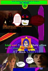 Percy Jackson + The Legend of Zelda: Endgame cover by cvgwjames