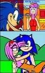Sonic the Hedgehog SonAmy Story cover by cvgwjames