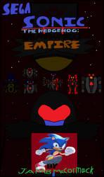 Sonic the Hedgehog Shadow Egg Empire cover by cvgwjames