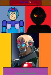 Mega Man X: Return of the Shadow Nazis cover by cvgwjames