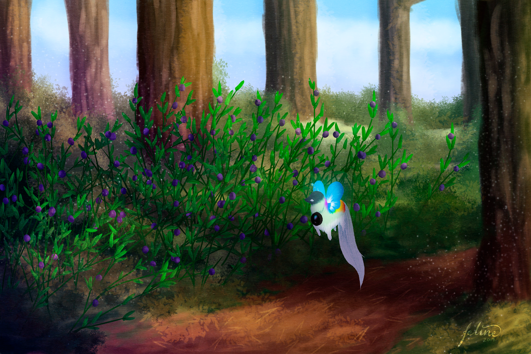 Blueberry forest
