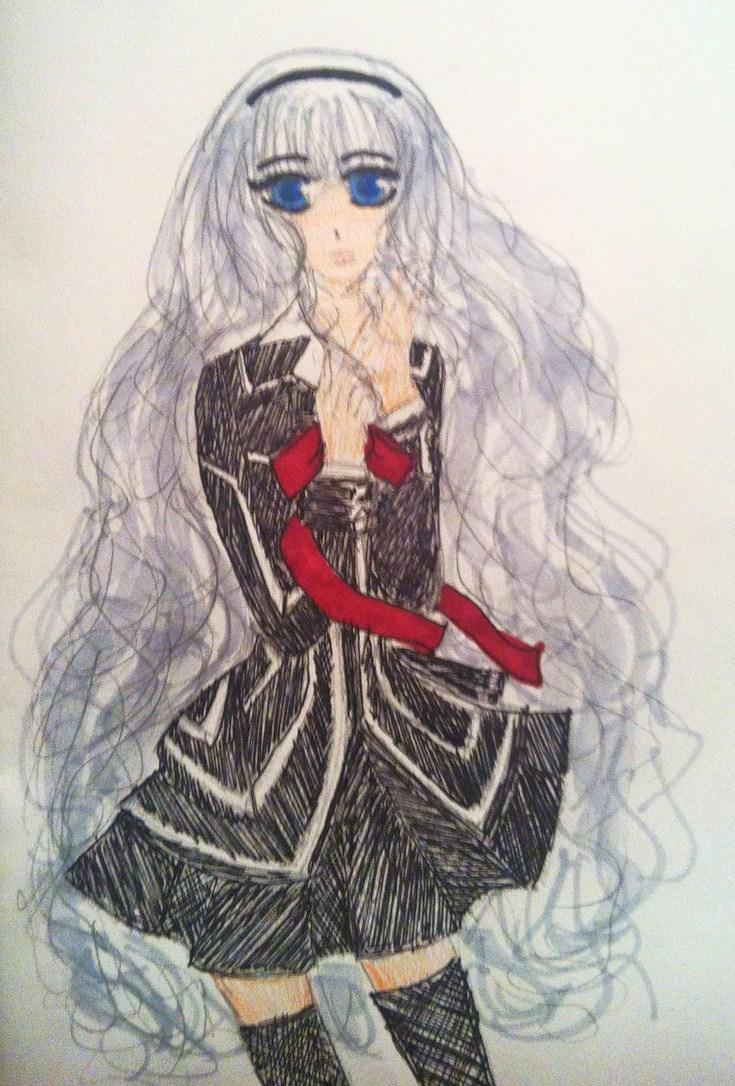 Sara in a Day Class Uniform by SaraAwayuki