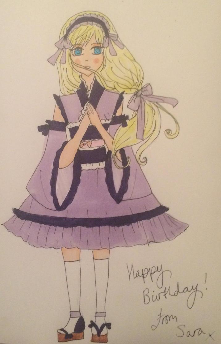 Gift: Happy Birthday, Lena-chan! by SaraAwayuki