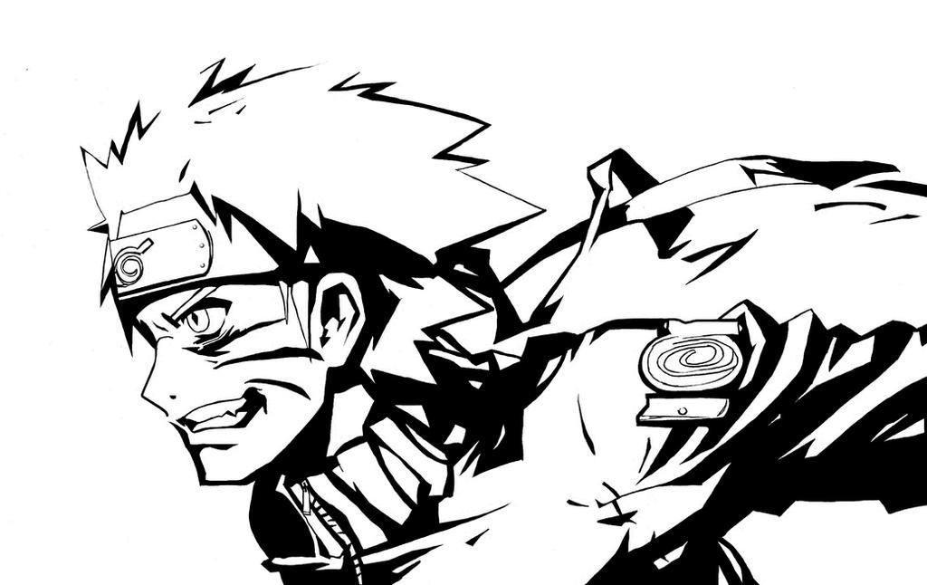 Naruto Black And White Gallery