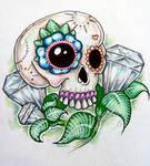 Candy Skull Diamonds