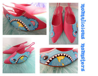 Nomster shoes by ponychops