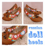Russian Doll Shoes