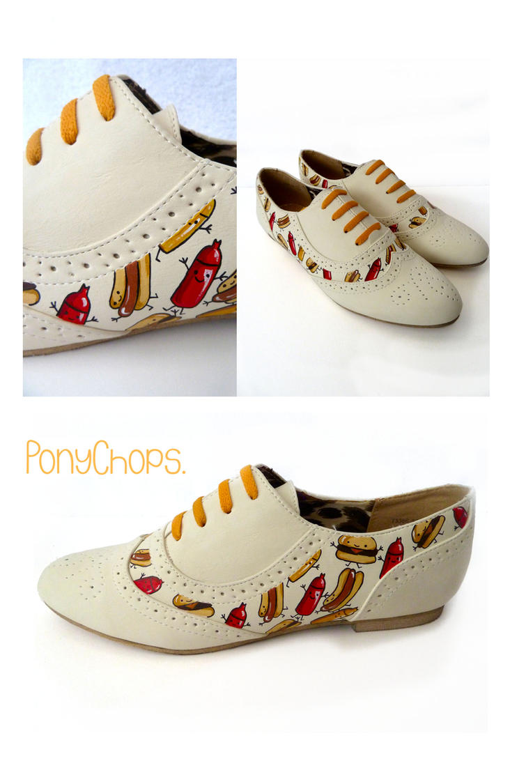 Junk Food Brogues by ponychops