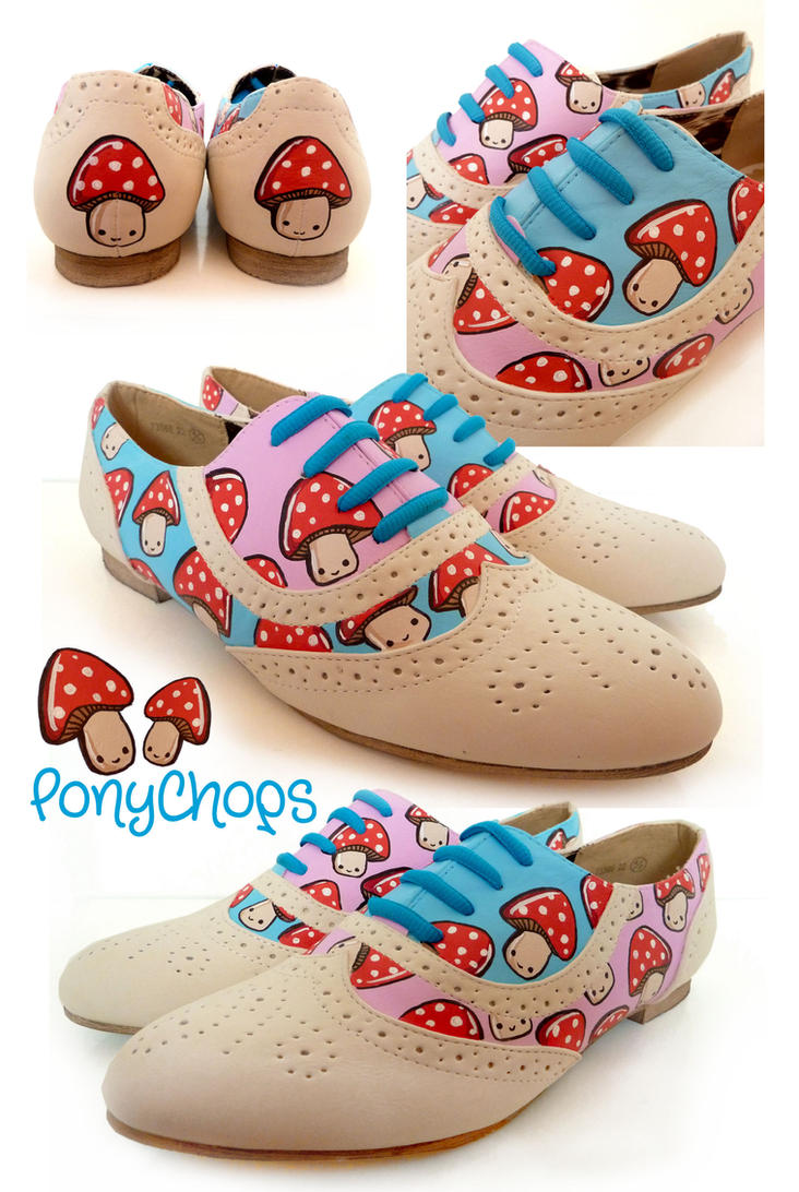 Toad Stool Brogues by ponychops