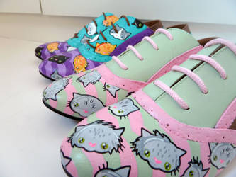 Kitty Brogues 1 by ponychops