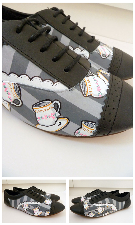 Tea Time Brogues by ponychops