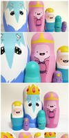 Adventure Time Russian Dolls by ponychops