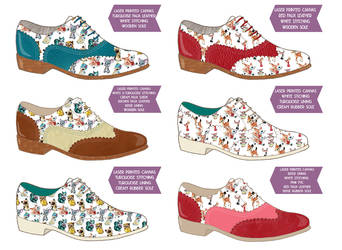 Brogues - Laura Manfre Collaboration part 2 by ponychops