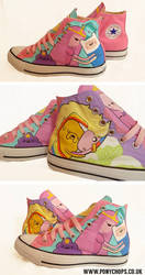 Couples in love - Adventure Time Converse