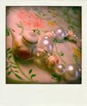 floral tea pot bracelet