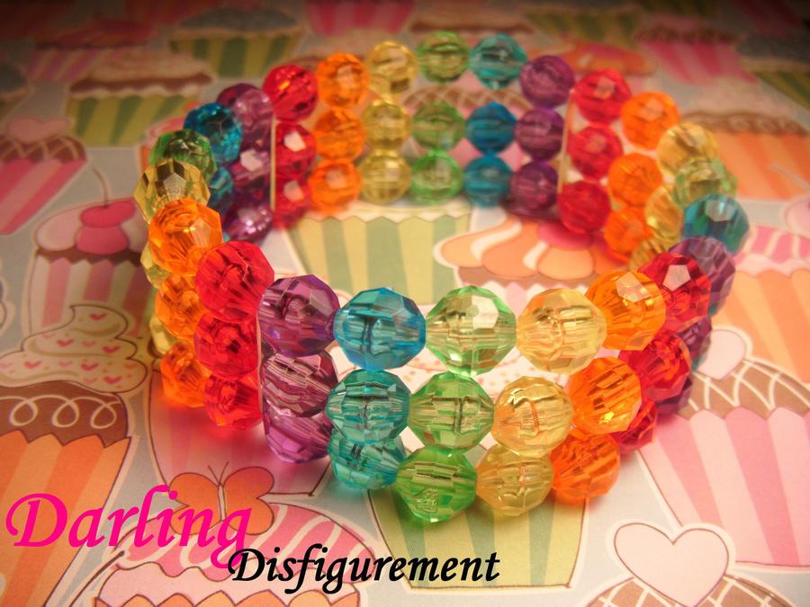 rainbow brite cuff by leggsXisXawsome