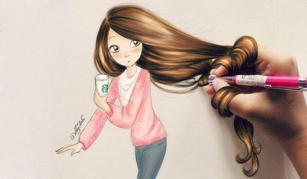 Фото мультяшных девушек