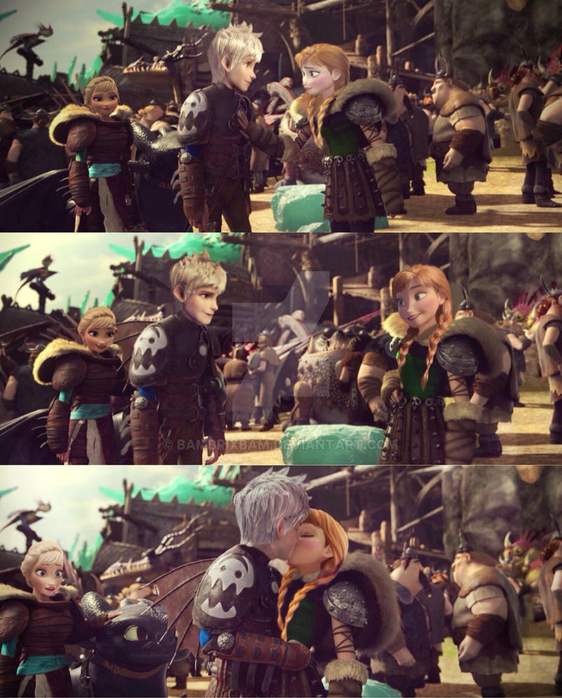 Told You It Was All In Here (JackAnna HTTYD Verse) by Bambrixbam