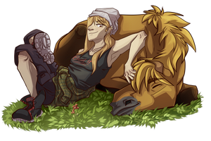 Chilling by SeshiMutt