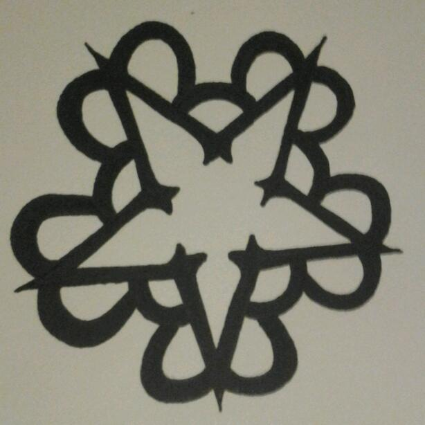 Black Veil Brides Star Logo By Veronagrrl