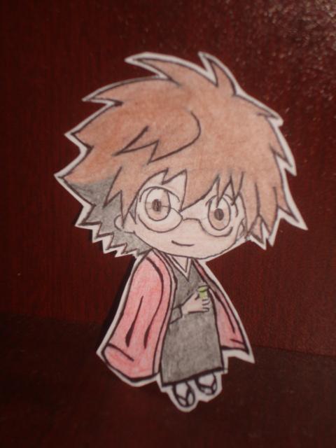 Rikuo paperchild by ForeverNura123