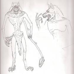 Yeenoghu, Demon Prince of Gnolls Concept Character
